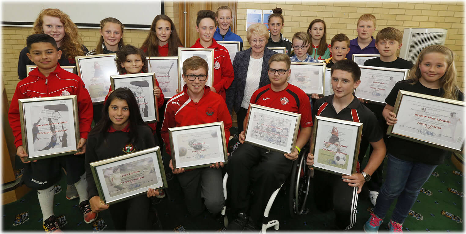 Ceredigion Sports Awards - Talented Juniors 2016