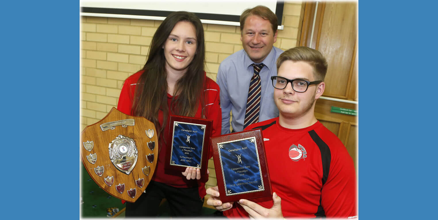 Ceredigion Sports Awards - Young Ambassadors 2016